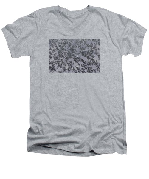 Frost On Car Window 6 Men's V-Neck T-Shirt
