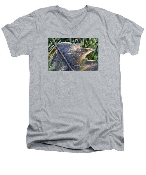 Frosty Autumn Men's V-Neck T-Shirt