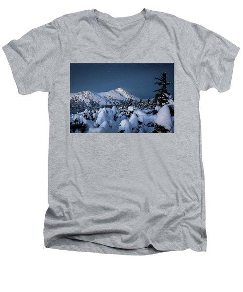 Frosty False Omalley C Men's V-Neck T-Shirt