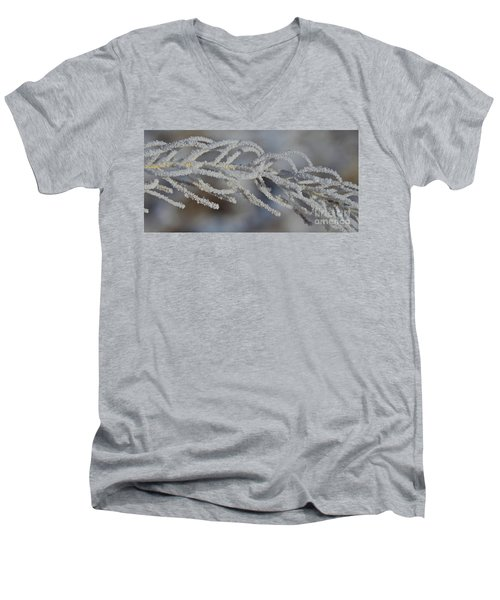 Frosty Men's V-Neck T-Shirt