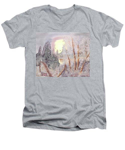 Frosty Morning Men's V-Neck T-Shirt