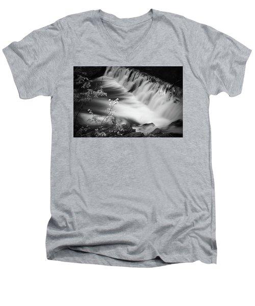Frothy Falls Men's V-Neck T-Shirt