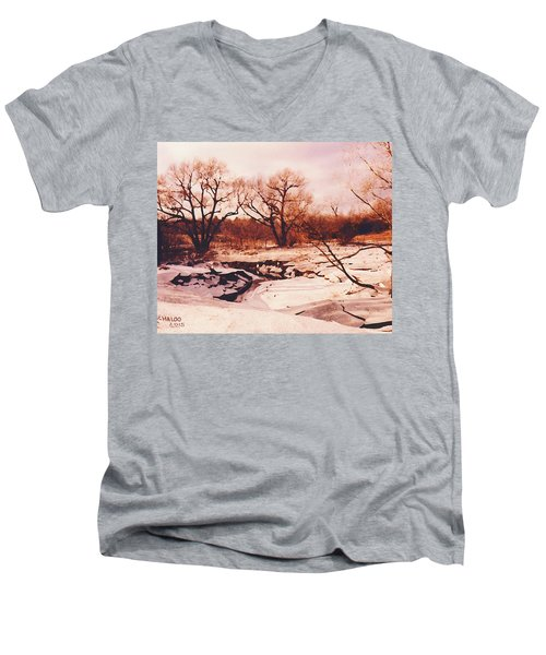 Frozen Creek Men's V-Neck T-Shirt
