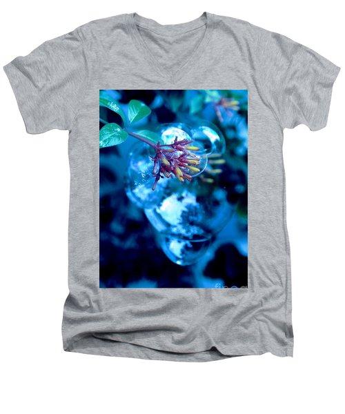 Frozen In Time Men's V-Neck T-Shirt by Irma BACKELANT GALLERIES