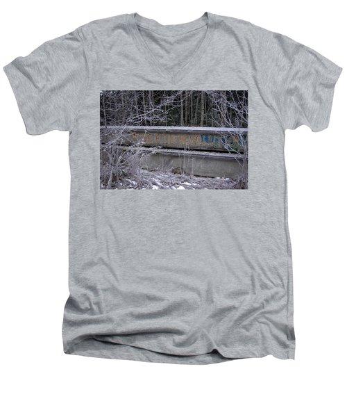 Frozen Revolution Men's V-Neck T-Shirt