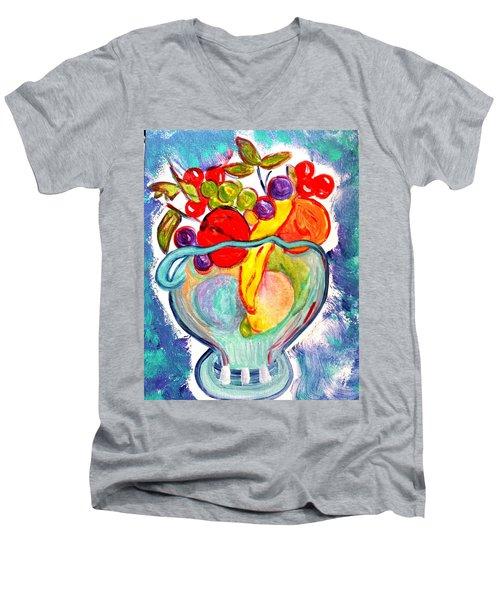 Fruit Bowl Men's V-Neck T-Shirt
