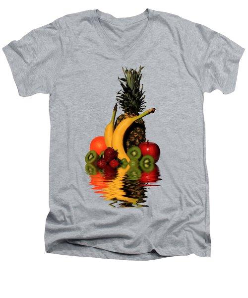 Fruity Reflections - Medium Men's V-Neck T-Shirt