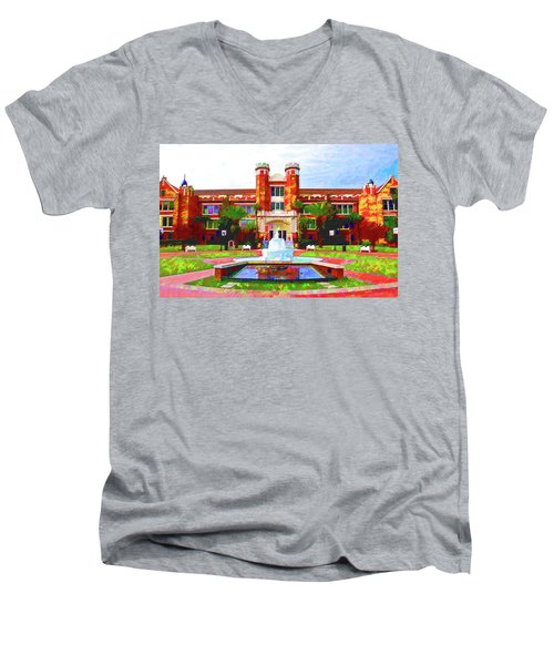 FSU Men's V-Neck T-Shirt