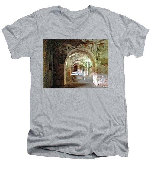 Ft. Morgan Men's V-Neck T-Shirt
