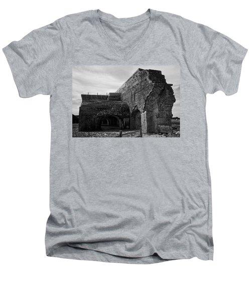 Ft. Pickens Explosion Men's V-Neck T-Shirt