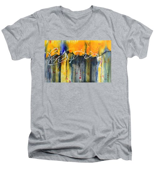 Fueled By The Wind Men's V-Neck T-Shirt