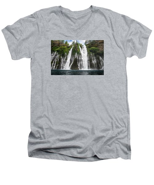 Full Frontal View Men's V-Neck T-Shirt by Greg Nyquist