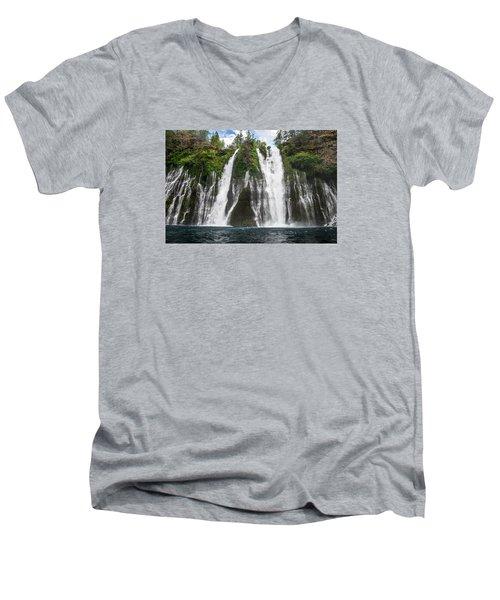 Full Frontal View Men's V-Neck T-Shirt