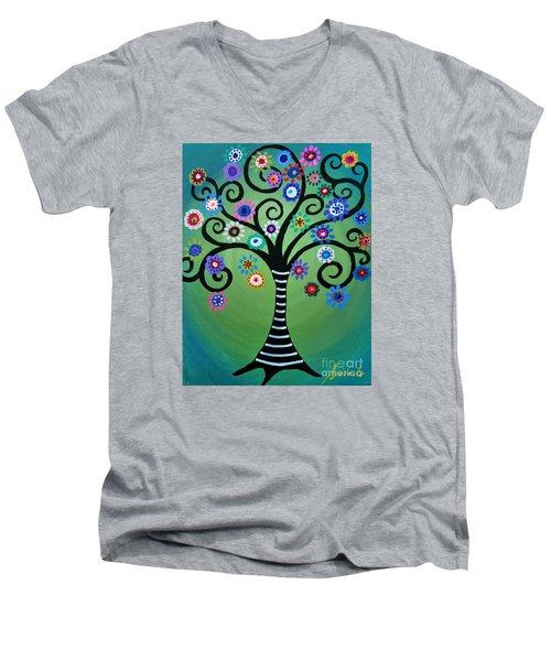 Full Moonlight Men's V-Neck T-Shirt