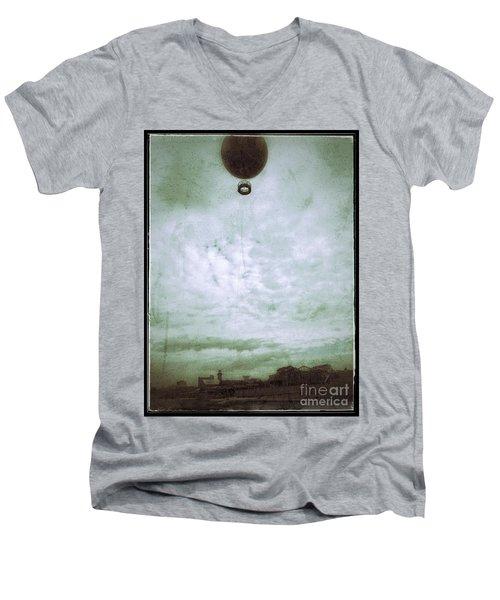 Full Of Hot Air Men's V-Neck T-Shirt by Jason Nicholas