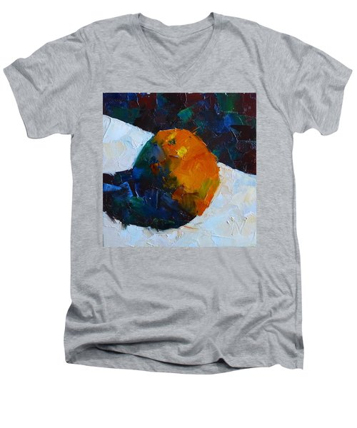 Fun With Citrus Men's V-Neck T-Shirt by Susan Woodward