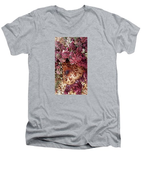Fungus And Succulents Men's V-Neck T-Shirt