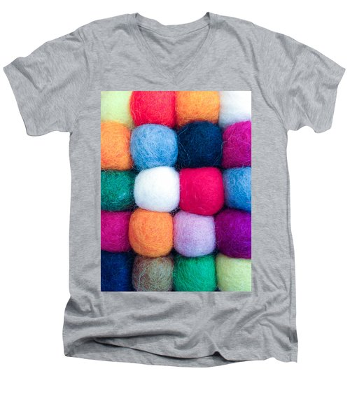 Fuzzy Wuzzies Men's V-Neck T-Shirt