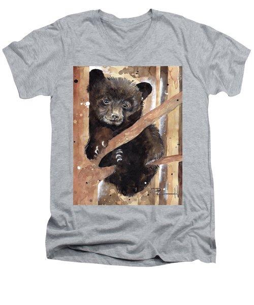 Fuzzy Wuzzy Men's V-Neck T-Shirt