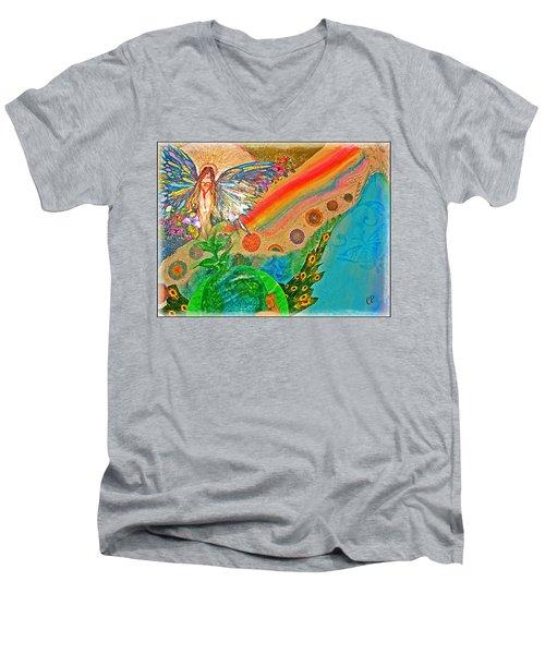Gaia Men's V-Neck T-Shirt