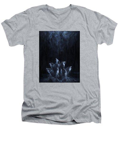 Gaia's Chorus Men's V-Neck T-Shirt