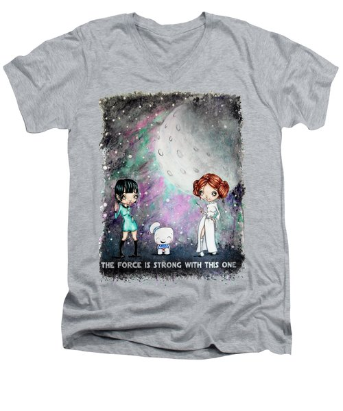 Galaxy Cosplay Men's V-Neck T-Shirt by Lizzy Love