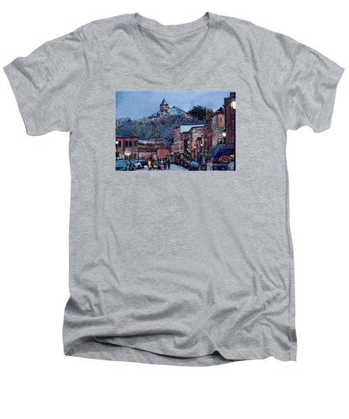 Galena Illinois Men's V-Neck T-Shirt