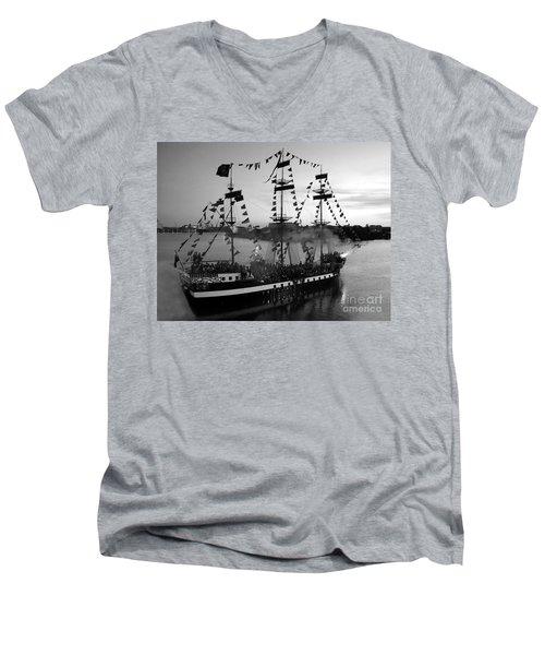 Gang Of Pirates Men's V-Neck T-Shirt