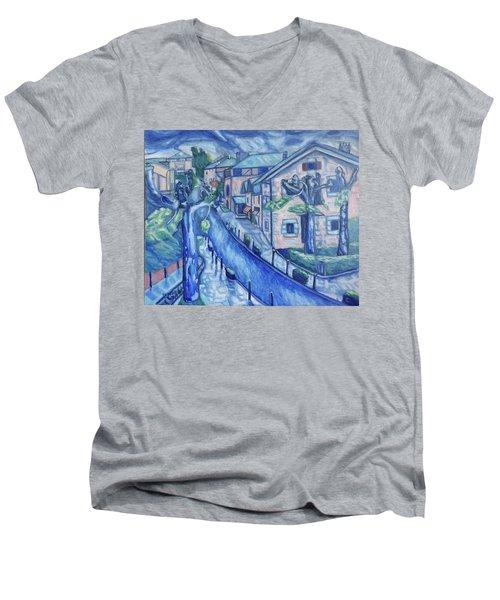 Garay  Men's V-Neck T-Shirt