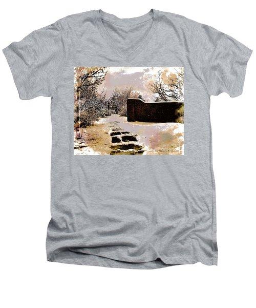 Garden Art Print  Men's V-Neck T-Shirt