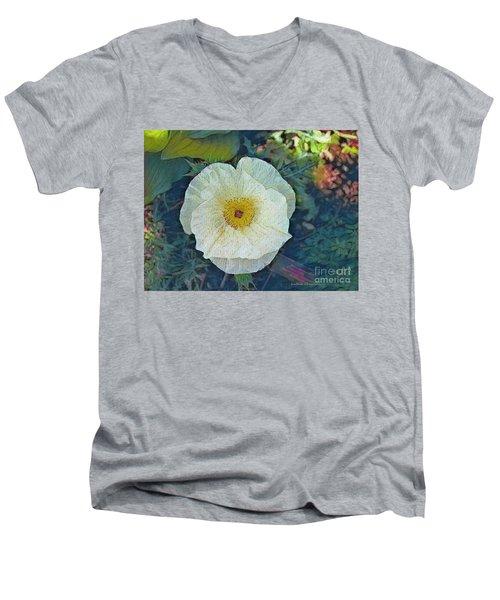 Garden Beauty Men's V-Neck T-Shirt by Kathie Chicoine