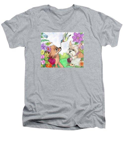 Garden Dwellers Men's V-Neck T-Shirt