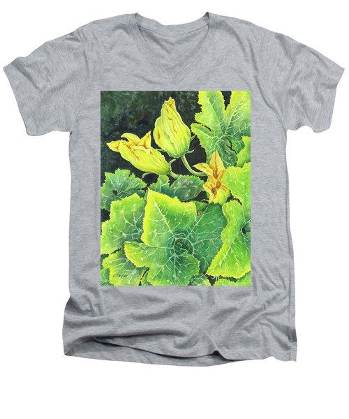 Garden Glow Men's V-Neck T-Shirt