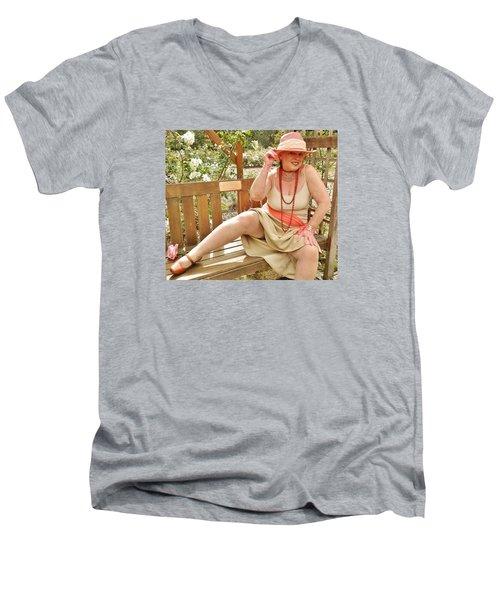 Garden Gypsy Men's V-Neck T-Shirt