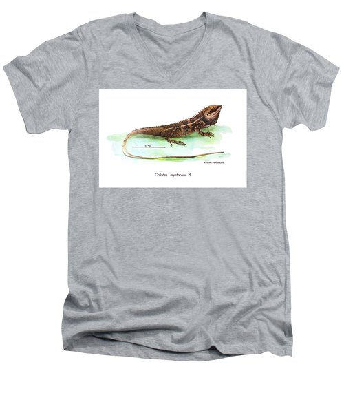 Garden Lizard Men's V-Neck T-Shirt