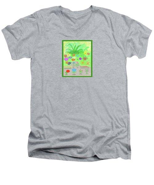 Garden Of Memories Men's V-Neck T-Shirt