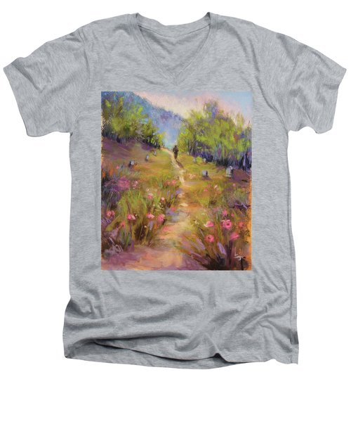 Garden Of Stone Men's V-Neck T-Shirt