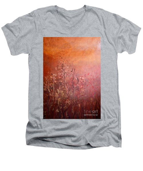 Garden Of The Sacred Fire Artbox Project 1 Basel Men's V-Neck T-Shirt