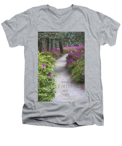 Garden Path Men's V-Neck T-Shirt