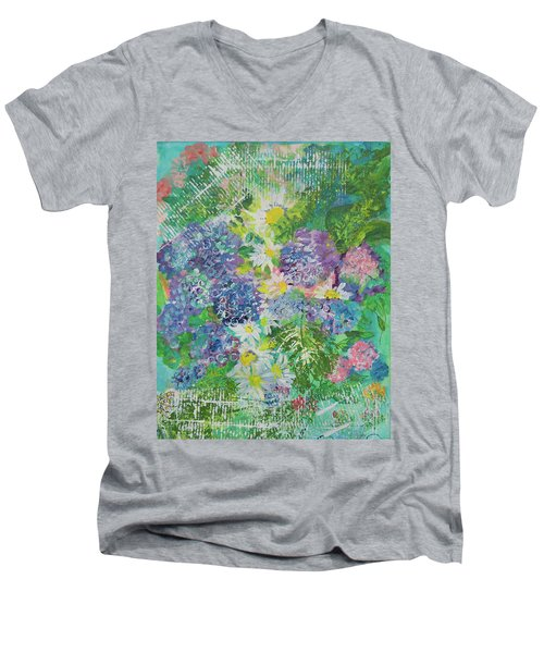 Garden View Men's V-Neck T-Shirt