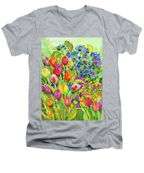 Garden Visitors Men's V-Neck T-Shirt