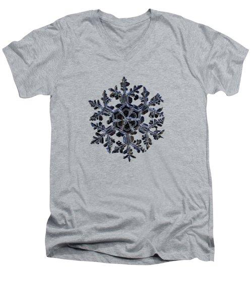 Gardener's Dream, Dark On Black Version Men's V-Neck T-Shirt