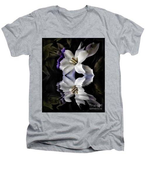 Gardenia Men's V-Neck T-Shirt