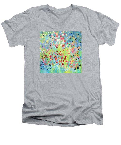 Garden's Delight Men's V-Neck T-Shirt