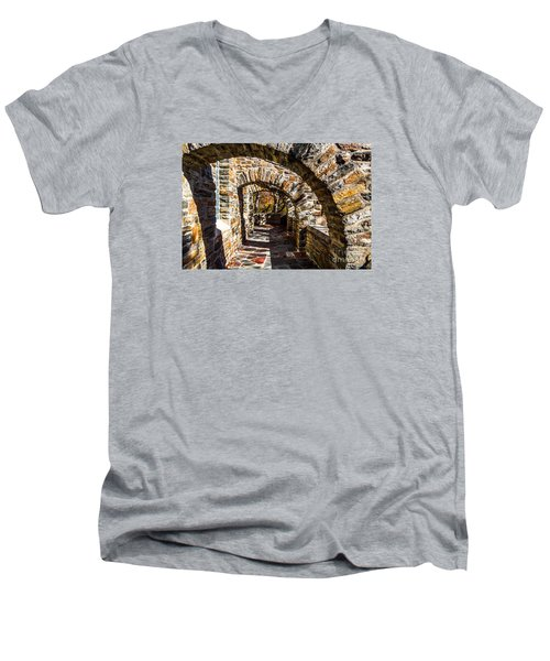 Garrett Chapel Balcony Men's V-Neck T-Shirt