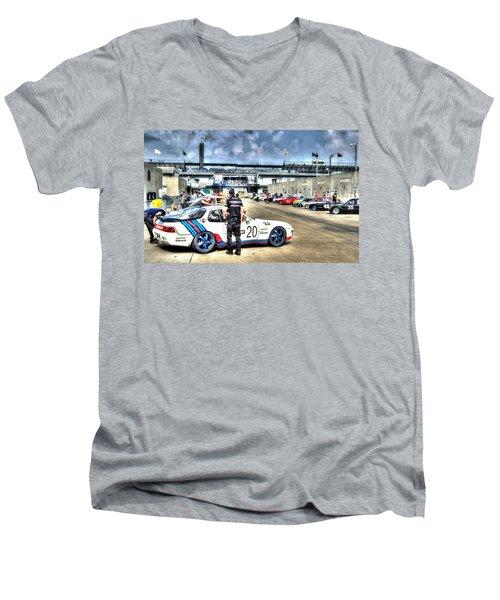 Gasoline Alley Svra Men's V-Neck T-Shirt
