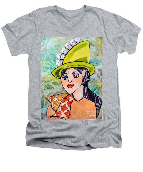 Gateau Chapeau Men's V-Neck T-Shirt