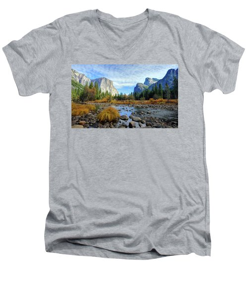 Gates Of The Valley Men's V-Neck T-Shirt