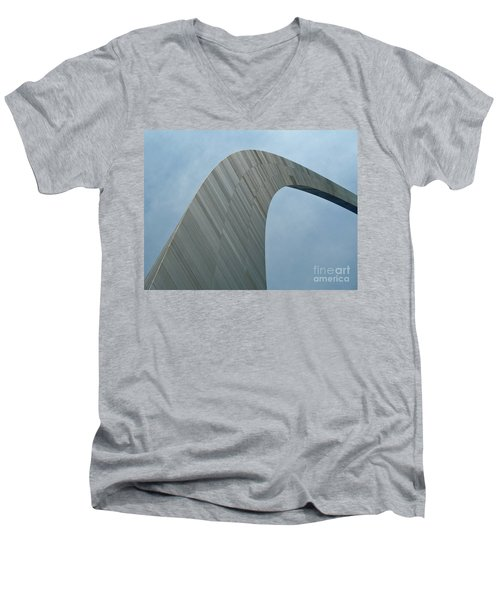 Gateway Arch Men's V-Neck T-Shirt