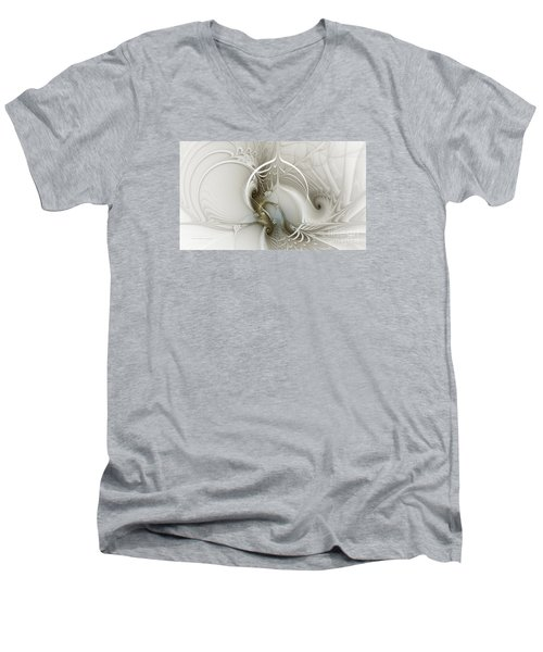 Gateway To Heaven-fractal Art Men's V-Neck T-Shirt